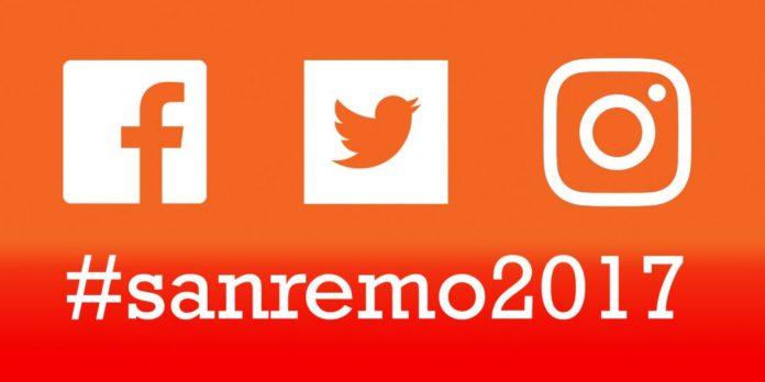 Sanremo 2017 Social