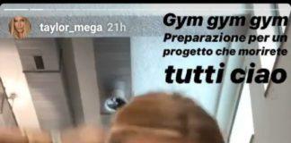 Taylor Mega accusa un malore