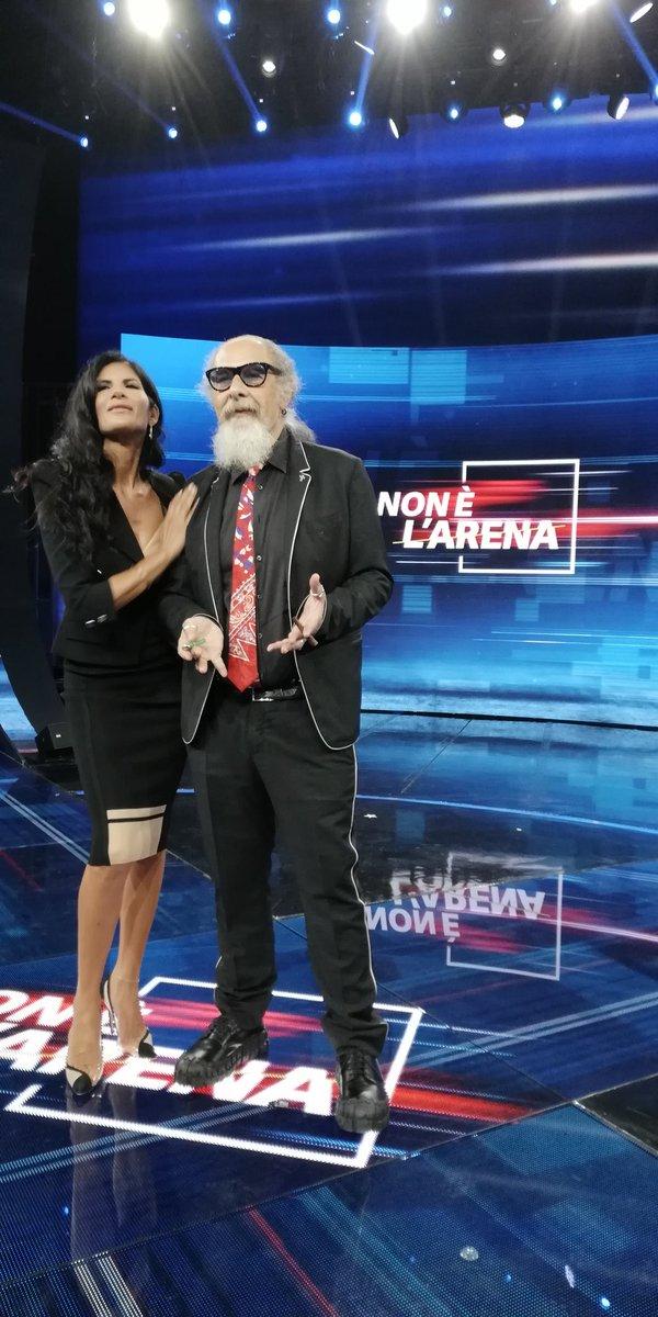 Pamela Prati e Roberto D'Agostino a Non ? l'Arena