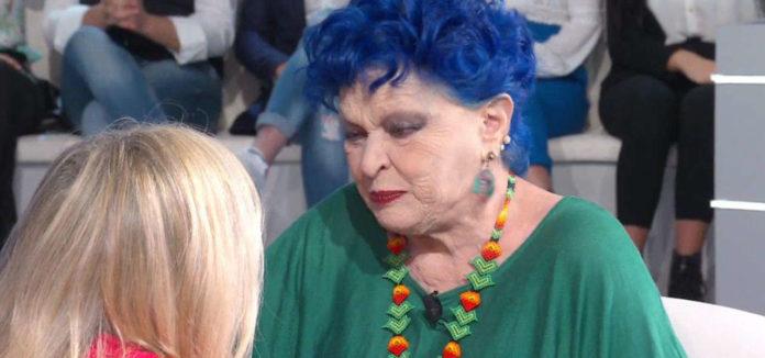 Lucia Bos? piange a Domenica In