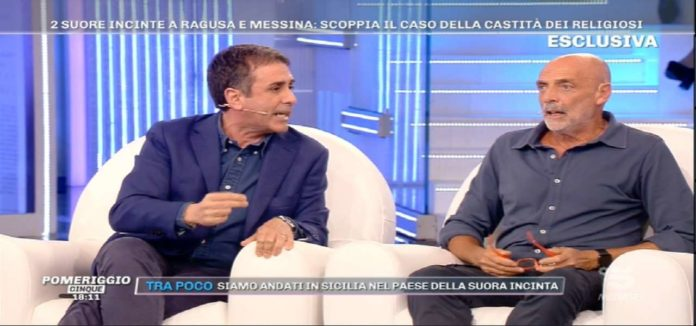 Barbra D'Urso blinda Paolo Brosio
