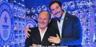 Gerry Scotti e il figlio
