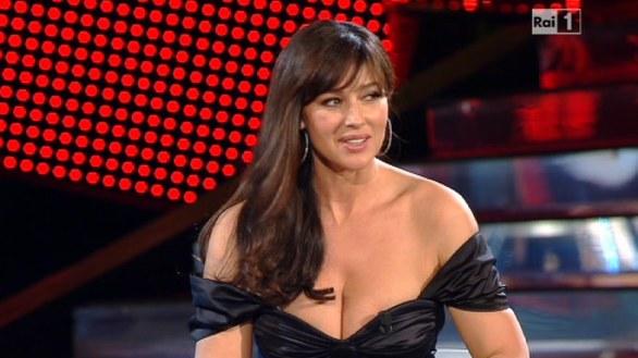 Monica Bellucci a Sanremo