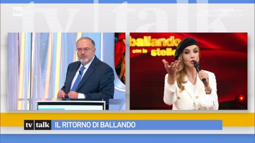 Milly Carlucci intervistata da Max Bernardini