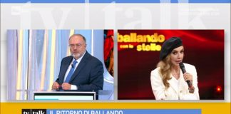 Milly Carlucci ospite di Tv Talk