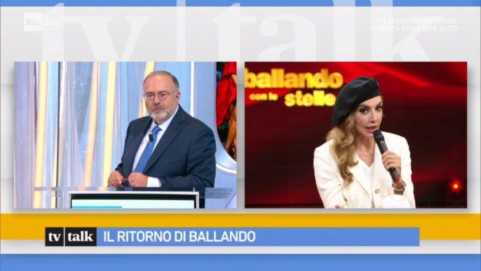 Milly Carlucci ospite di Tv Talk
