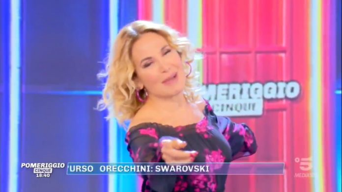 La conduttrice Barbara D'Urso
