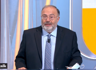 Max Bernardini -conduttore di Tv Talk